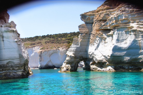 Sailboat Day Cruises from Pollonia (Milos)